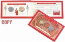 ROMAN COIN PACK (REPLICAS) - THE INVASION OF BRITAIN